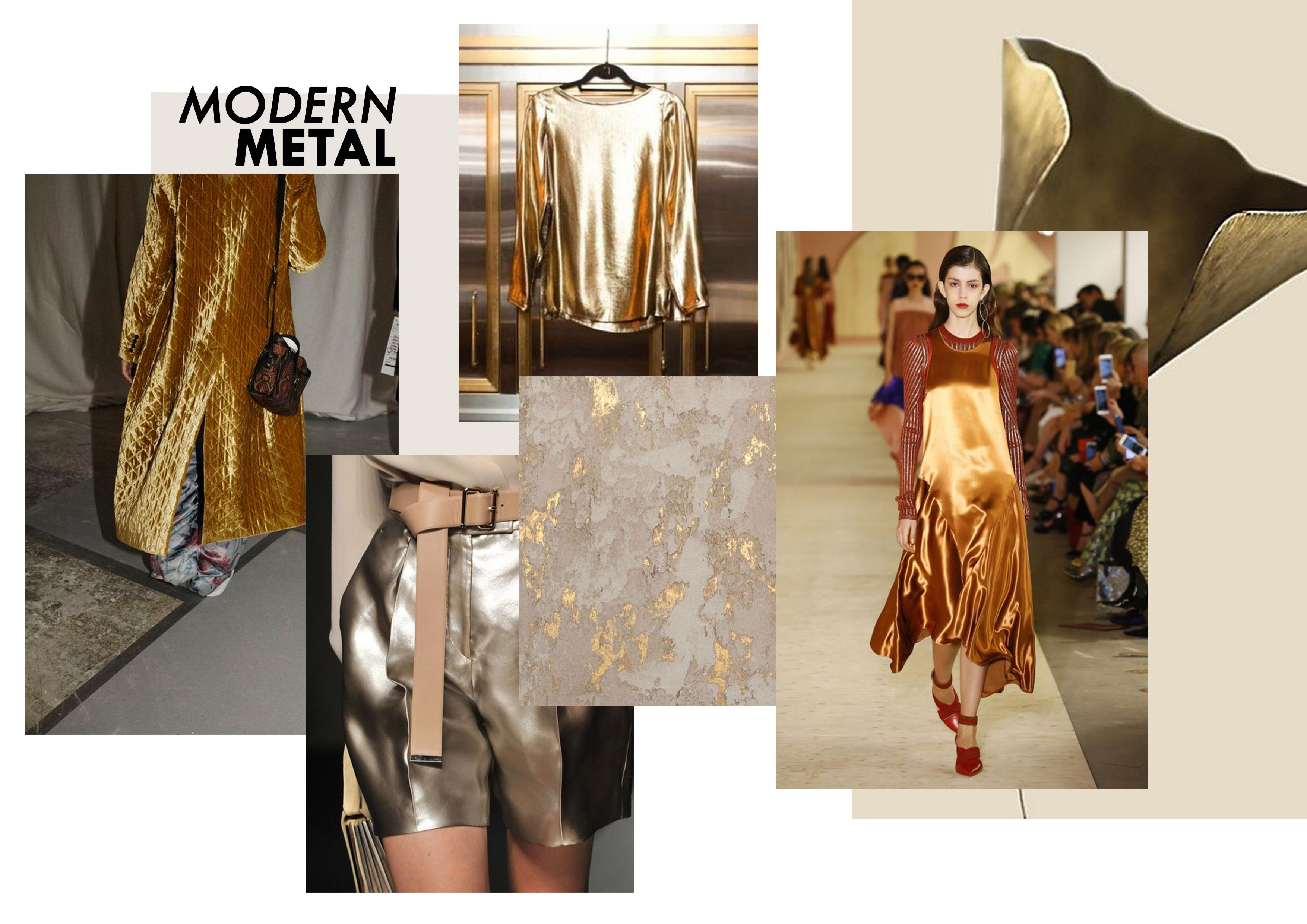 Modern metalic